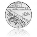 Stříbrná mince První české letadlo Bohemia B-5 - Standard