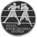 Stříbrná pamětní mince LOH Athény-Box Proof, rok 2004