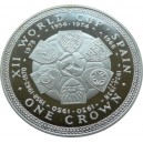 Stříbrná pamětní mince MS ve fotbale Španělsko Proof, rok 1982
