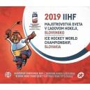 Sada oběžných mincí Slovenské republiky 2019 - MS v ledním hokeji