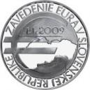 Stříbrná pamětní mince Zavedení EURA na Slovensku Standard, 2019