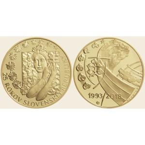 2019 - Zlatá medaile 25. výročí Vzniku Slovenské republiky