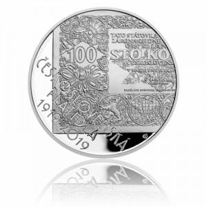 Stříbrná mince Československá platidla - Proof
