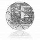 Stříbrná mince Československá platidla - Standard