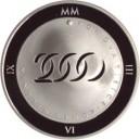 Mince se zlatou inlejí a hologramem k roku 2000 - Proof/Proof