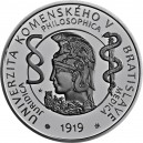 Stříbrná pamětní mince Univerzita Komenského Standard, 2019