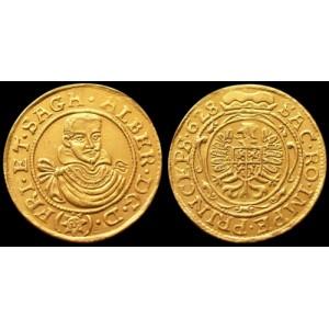 Zlatý Dukát Albrechta z Valdštejna - replika