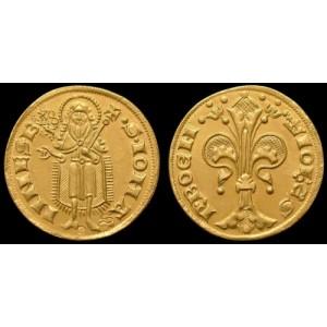 Zlatý Florén Jan Lucemburský - replika
