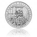 Stříbrná mince První pražská defenestrace - Standard