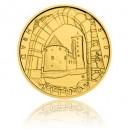 Hrad Švihov - zlatá mince z cyklu Hrady České republiky, běžná kvalita - Standard