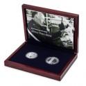 Sada stříbrné mince a medaile 17. listopad 1989, Proof - Sametová revoluce