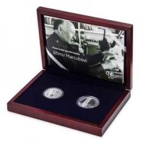 2010 - Sada české a lucemburské stříbrné pamětní mince 700. výročí sňatku Jana Lucemburského s Eliškou Přemyslovnou, Proof