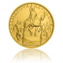 2019 - Zlatá medaile Sametová revoluce - 1/2 Oz