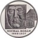 Stříbrná pamětní mince Michal Bosák Proof, 2019