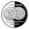 2020 - Stříbrná mince Jáchymovské tolary - Proof