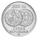 Stříbrná mince Jáchymovské tolary - Standard - emise leden 2020 - orientační cena