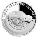 2020 - Stříbrná mince Škoda 110 R Coupé - Na kolech 1 NZD