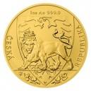 2020 - Zlatá mince 50 NZD Český lev - 1 Oz