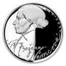 Stříbrná mince Božena Němcová - Proof