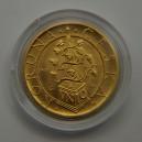 1995 - Zlatá mince Tolar moravských stavů, b.k.