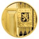 2020 - Zlatá mince 10 NZD Rok 1920 - První československá ústava- Proof