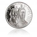 Stříbrná medaile Nástup Lucemburků na český trůn