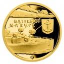 2019 - Zlatá mince 5 NZD Bitva o Narvik - Válečný rok 1940