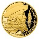 2020 - Zlatá mince 10 NZD Na vlnách - Fernão de Magalhães -- Proof