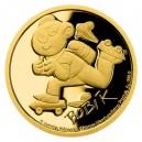 2020 - Zlatá mince 5 NZD Bobík - Čtyřlístek