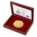 2020 - Zlatá mince 500 NZD Český lev - 10 Oz