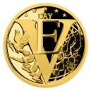2020 - Zlatá mince 5 NZD Konec II. světové války v Evropě
