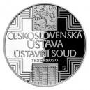 Stříbrná mince Československá ústava - Proof - emise únor 2020 - orientační cena