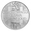 Stříbrná mince Československá ústava - Standard - emise únor 2020 - orientační cena