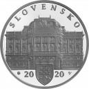 Stříbrná pamětní mince 100. výročí založení SND Proof, 2020