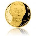 2016 - Zlatá medaile Vlasta Burian - číslováno - Au 1/2 Oz