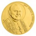 2020 - Zlatá investiční mince 500 NZD Papež Jan Pavel II.