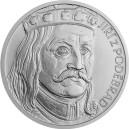 2020 - Stříbrný odražek pětidukátu Jiřího z Poděbrad