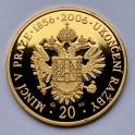 Zlatá medaile Ukončení ražby mincí v Pražské mincovně