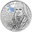 Stříbrná pamětní mince Maximilián Hell, Standard, 2020