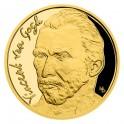 2020 - Zlatá mince 25 NZD Vincent van Gogh - Slavní umělci