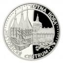 2020 - Platinová mince 50 NZD UNESCO - Kutná Hora - Historické centrum - 1 Oz