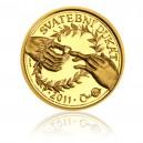 Zlatý Svatební dukát rok 2010-Au 1/10 Oz