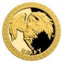 2020 - Zlatá mince 5 NZD Drak - Bájní tvorové