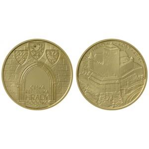2016 - 2020 - Sada deseti zlatých mincí Hrady České republiky, Proof