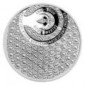 Stříbrná mince Založení SUPŠ sklářské v Železném Brodě - Proof