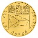 2020 - Zlatá mince 250 NZD Česká vlajka - 5 Oz