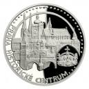 2020 - Platinová mince 50 NZD UNESCO - Praha - Historické centrum - 1 Oz