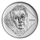 Stříbrná mince Adolf Loos, standard - b.k. - emise prosinec 2020 - orientační cena