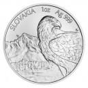 2021 - Stříbrná mince Orel 2 NZD  - 1 Oz