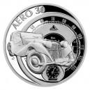 2021 - Stříbrná mince Automobil Aero 30 - Na kolech 1 NZD